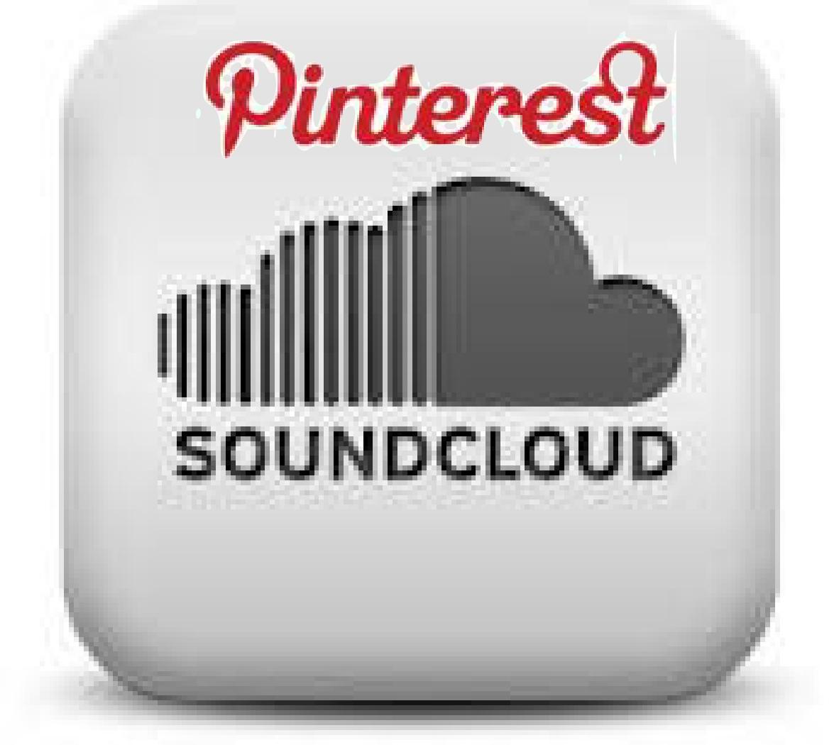 SoundCloud & Pinterest