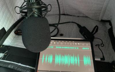 Personal Portable VO Recording SetUp, Take 23