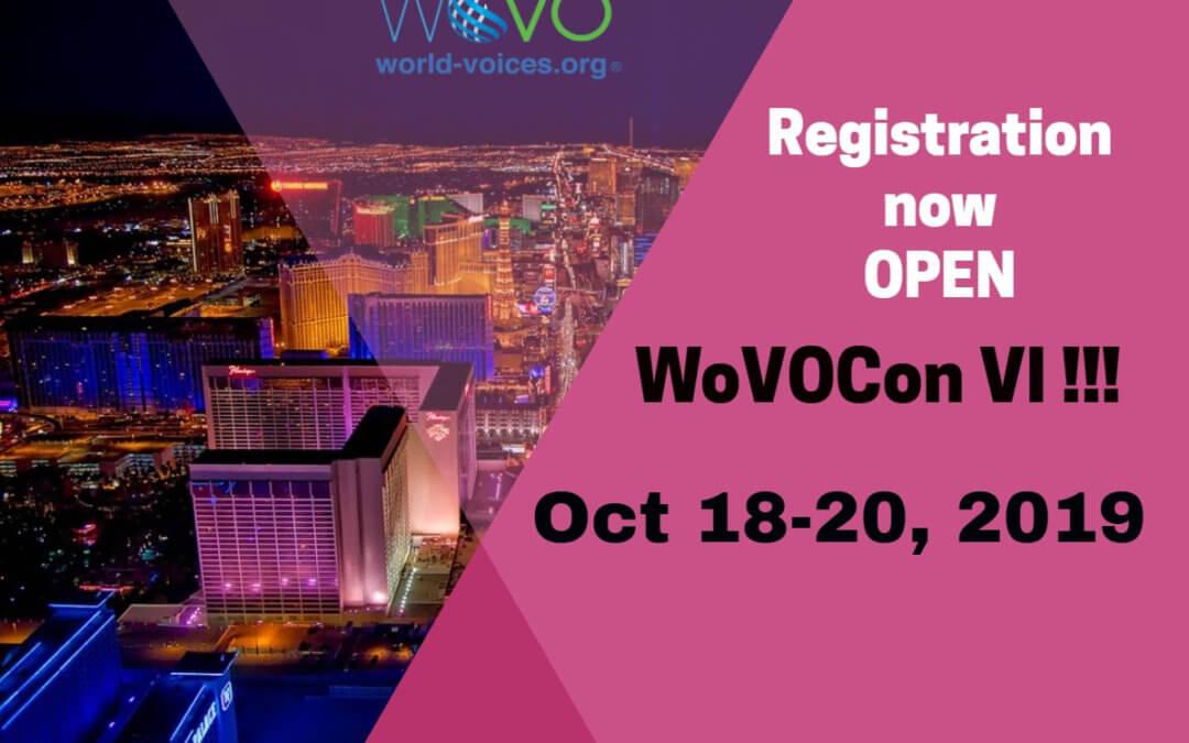 WoVOCon VI Launches