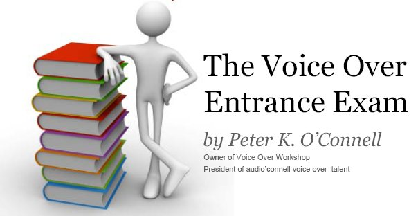 Voice over exam